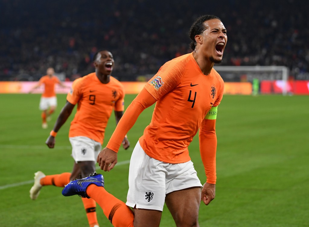 Virgil van Dijk has taken up the mantle of Netherlands captain with aplomb.