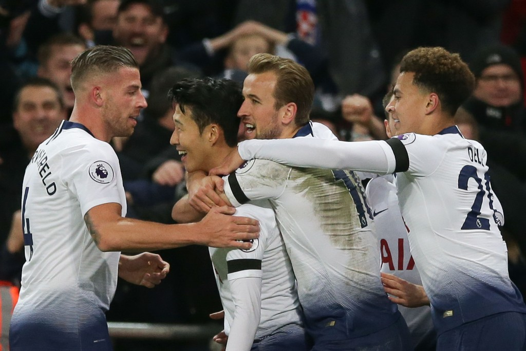 Tottenham look back to their best.