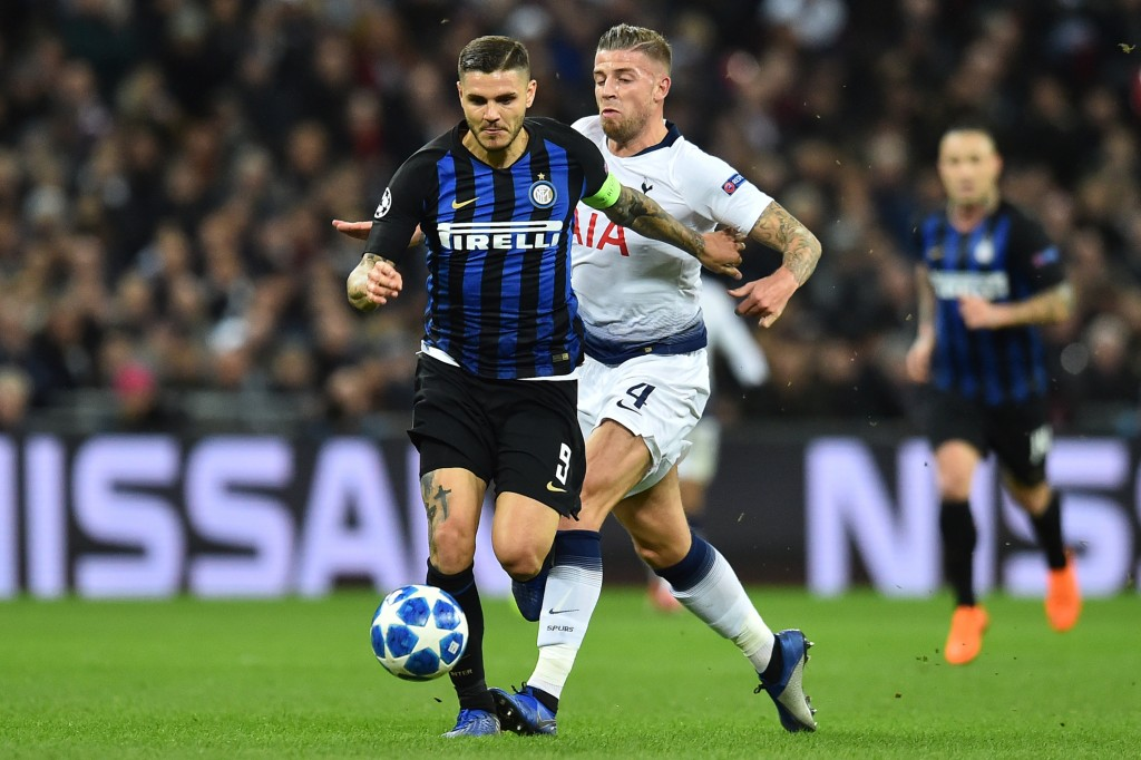 Mauro Icardi was anonymous on Wednesday.