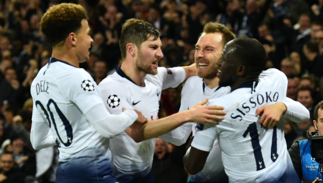 Tottenham are still in with a shout of making the knockout stages.