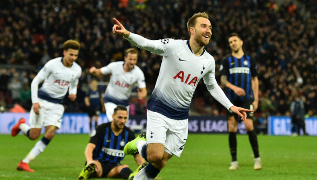 Christian Eriksen starred again for Tottenham - this time off the bench.