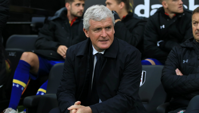 Mark Hughes' tenure as Southampton manager could be ending soon.