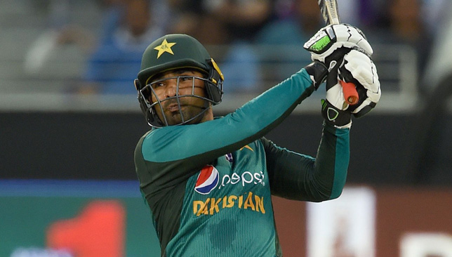 Pakistan batsman Asif Ali.