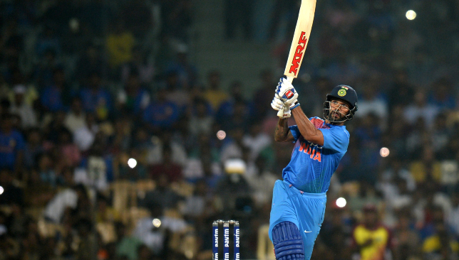 Dhawan was bright in the second and third T20s.