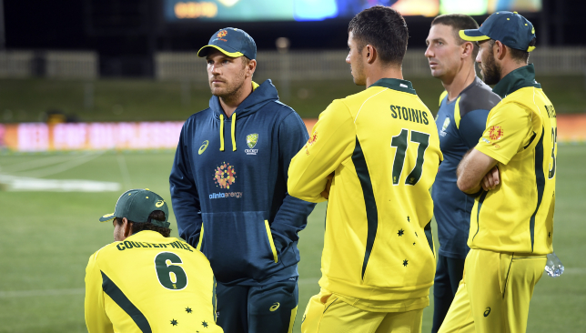 Finch was left searching for answers after Australia's 40-run defeat.
