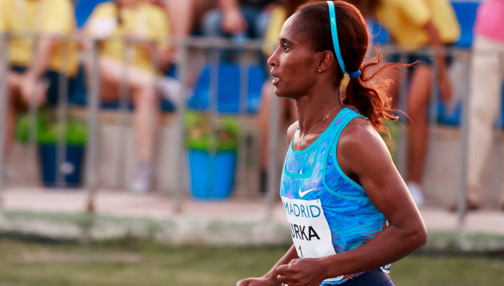 Ethiopia's Gelete Burka was the 10,000m silver medalist at the 2015 IAAF World Championships.