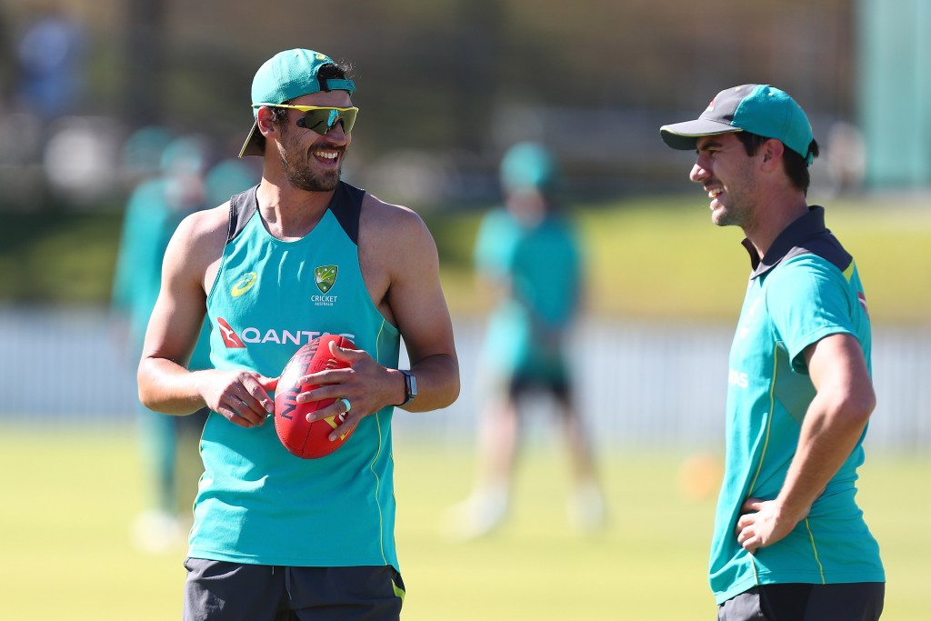 Starc and Cummins will bring the heat in the Test series.