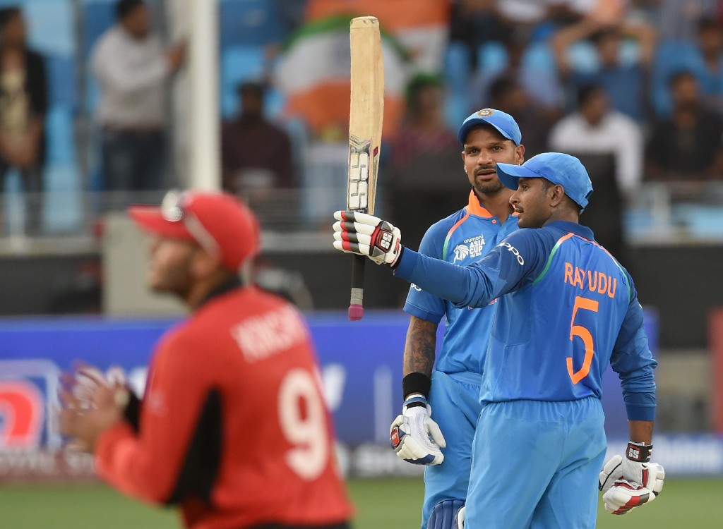 Rayudu made his comeback to the India side in the Asia Cup.