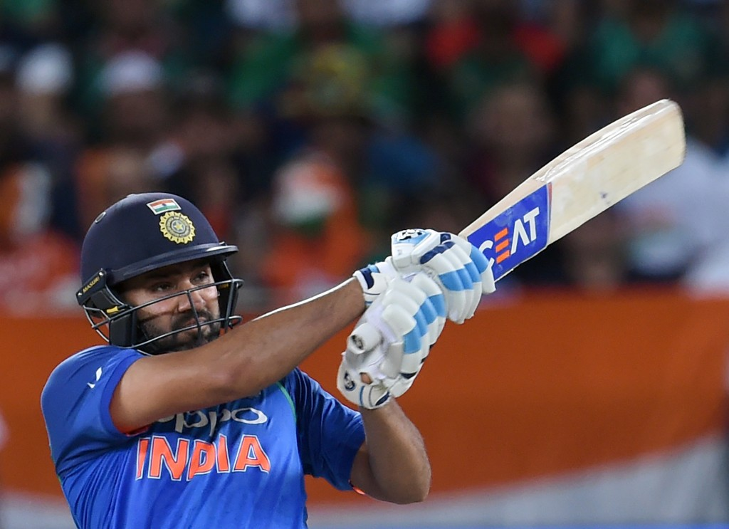 Rohit Sharma is on fire in white-ball cricket at the moment.