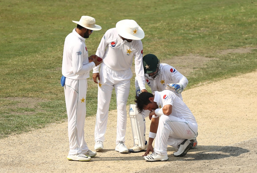 Yasir struggled massively in Dubai.