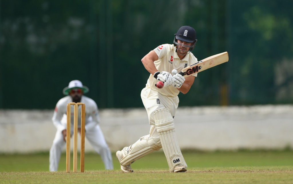 With Cook now gone, Rory Burns is set for his England debut.