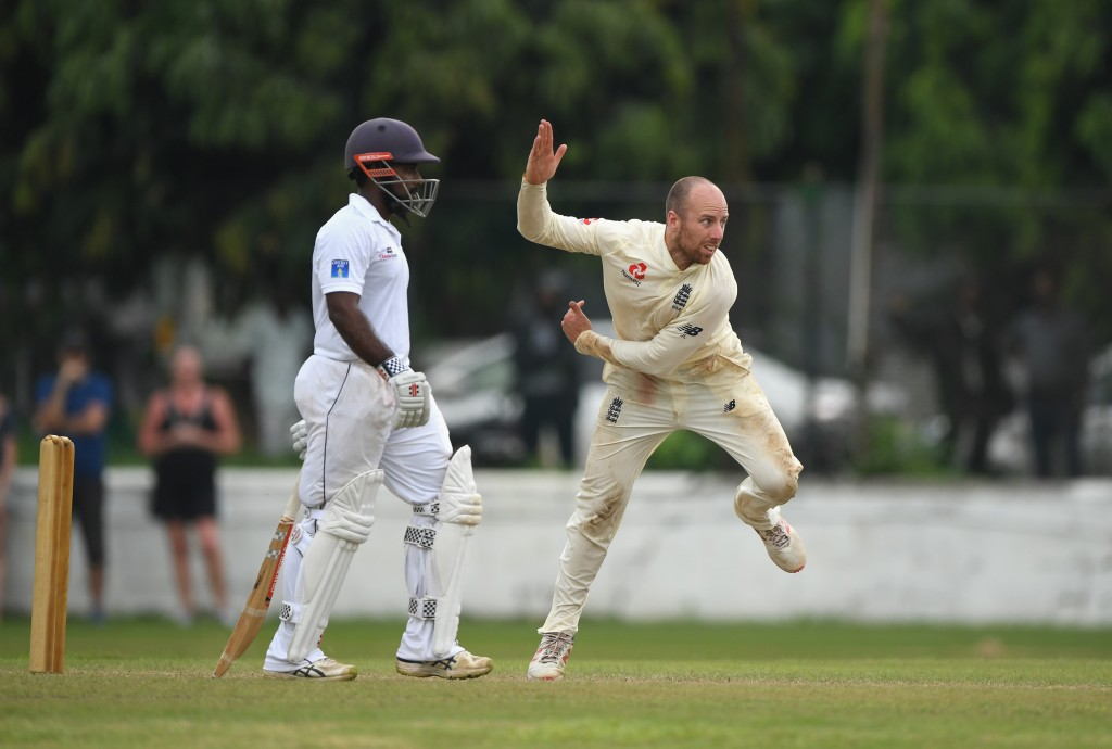 A second Test for England beckons for Leach.