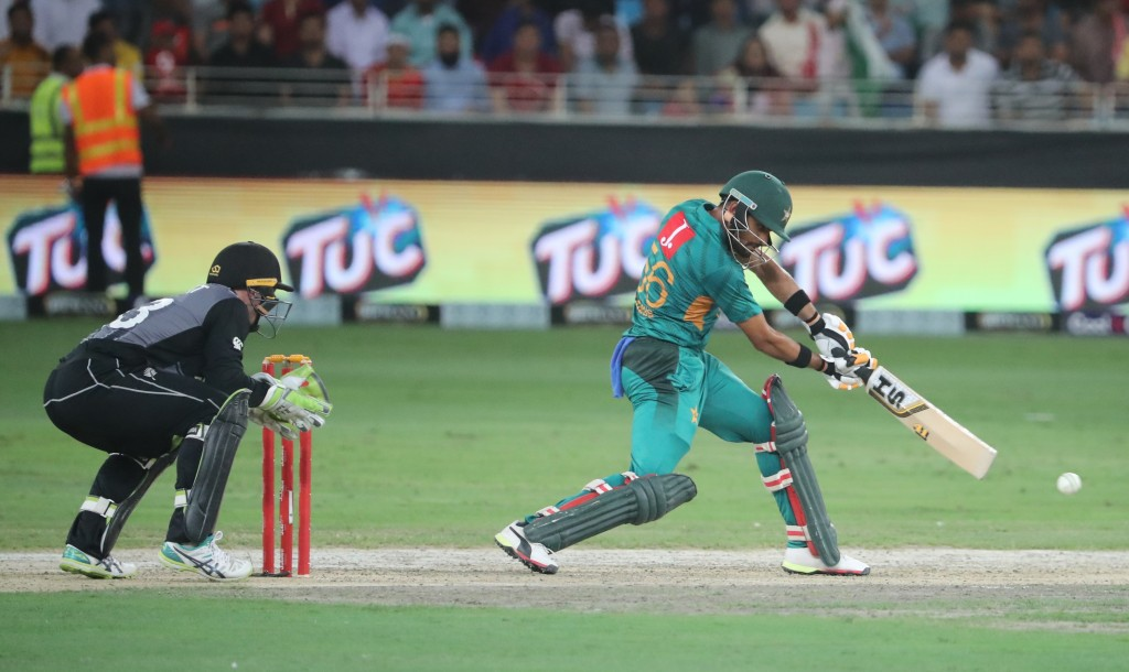 In the midst of a purple patch: Babar Azam.