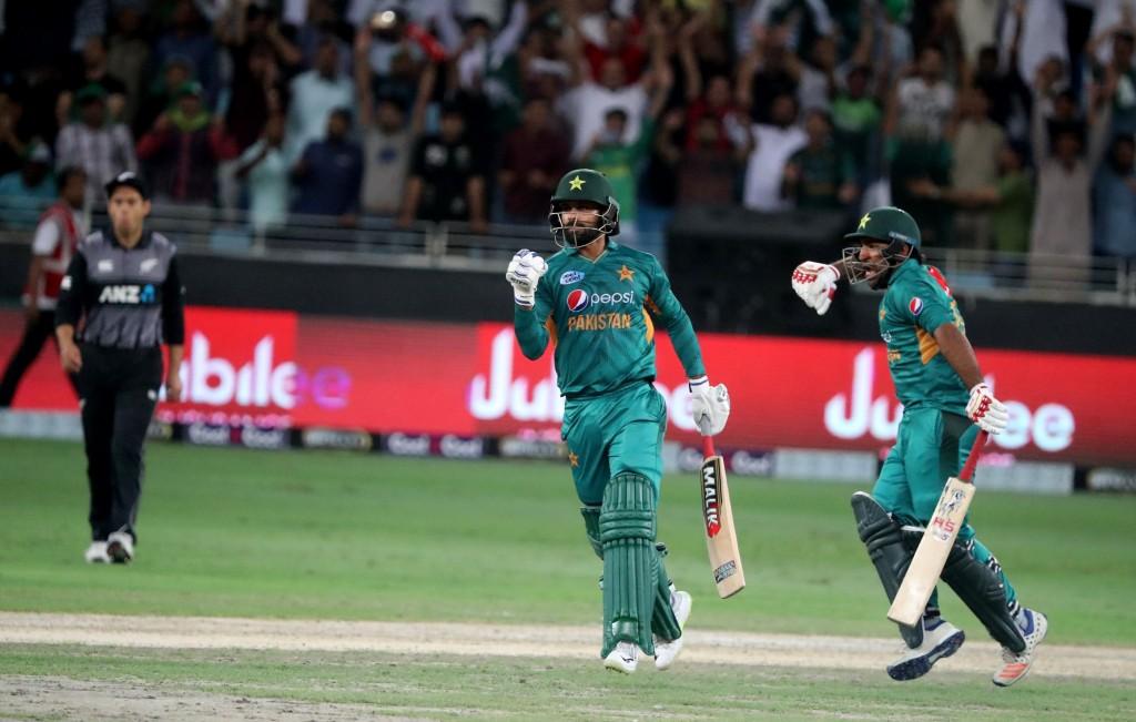 Sarfraz led Pakistan to their 11th successive T20 series win.