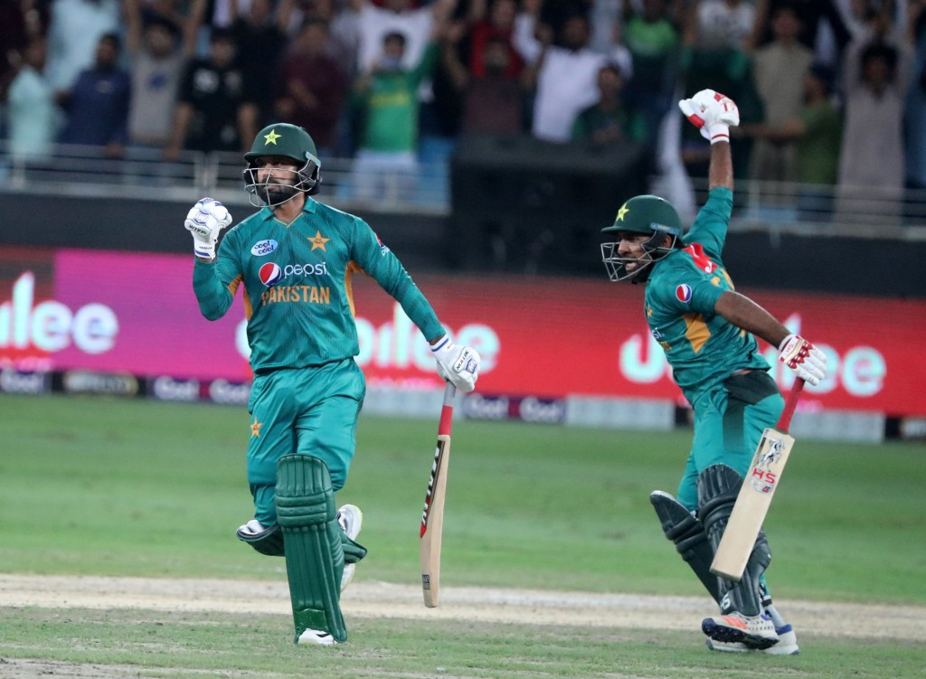 Sarfraz and his men have won 11 T20 series on the bounce now.