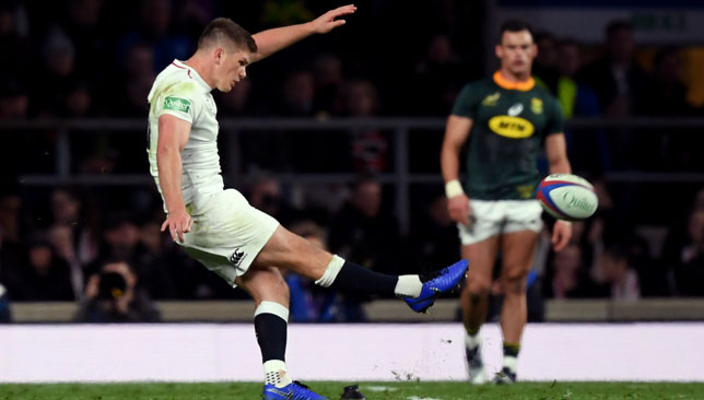 South Africa were controversially beaten by England.