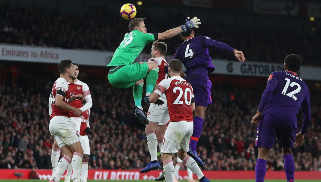 Virgil Van Dijk Is Monstrous For Liverpool But Arsenal Secure Better Grade In 1 1 Draw Sport360 News