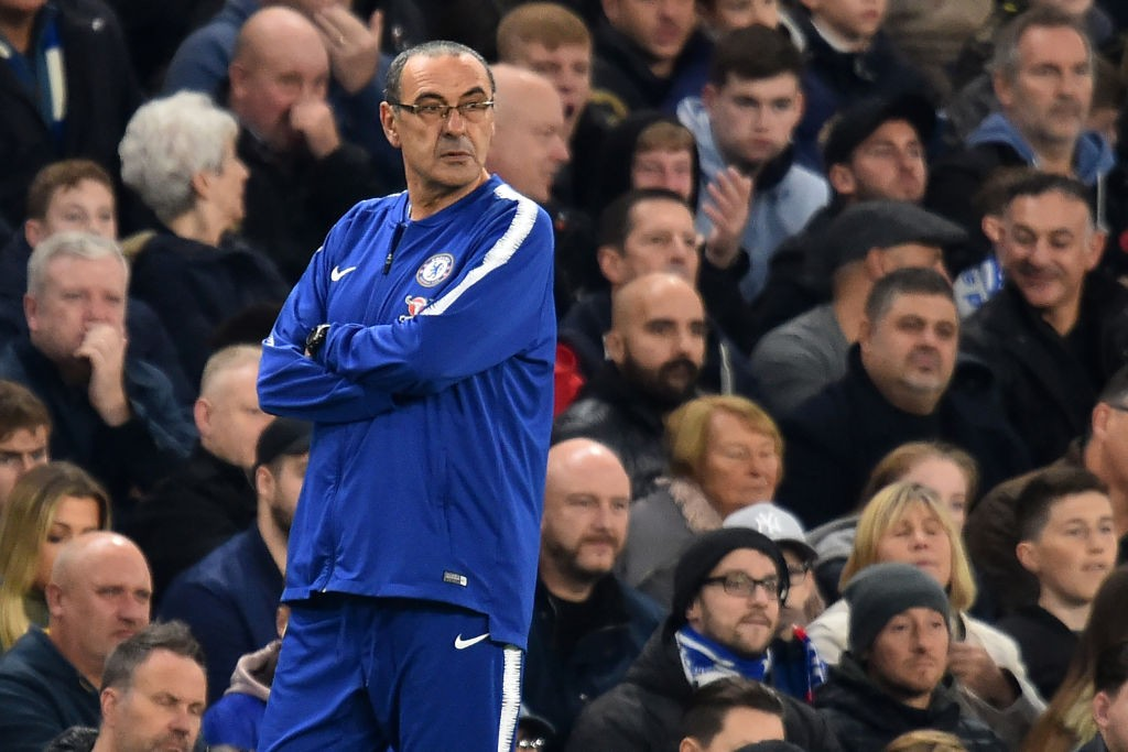 Yet another drop in points for Marizio Sarri's Chelsea