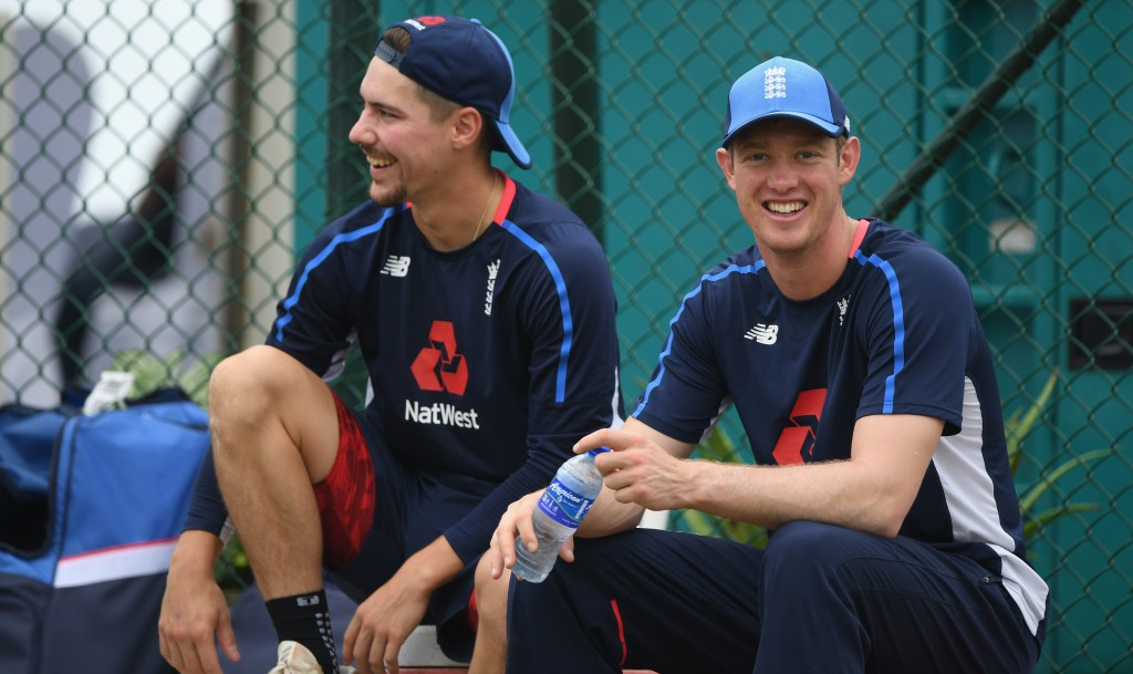 Burns and Jennings are set to open for England.