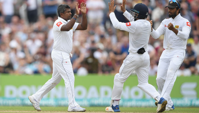 A century of Galle dismissals for the Sri Lanka veteran.