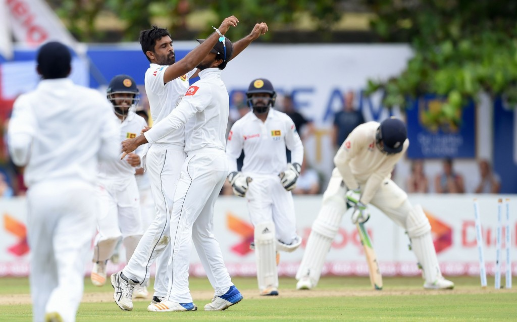 Perera picked up four wickets with his off-spin.