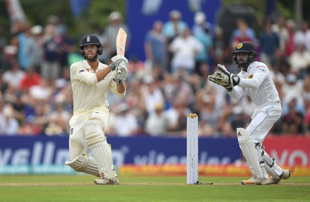 Foakes was at ease against Sri Lanka's spinners.