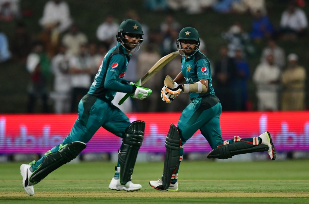 Fakhar and Babar are in Rohit's sights.