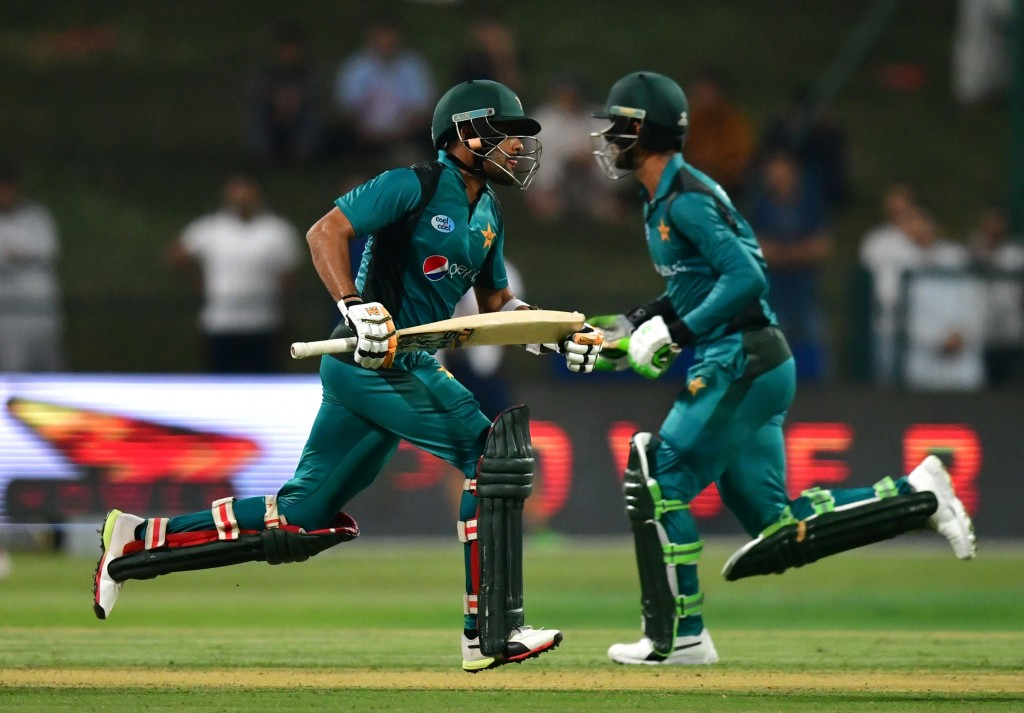 A canter of a chase for Pakistan's batsmen.
