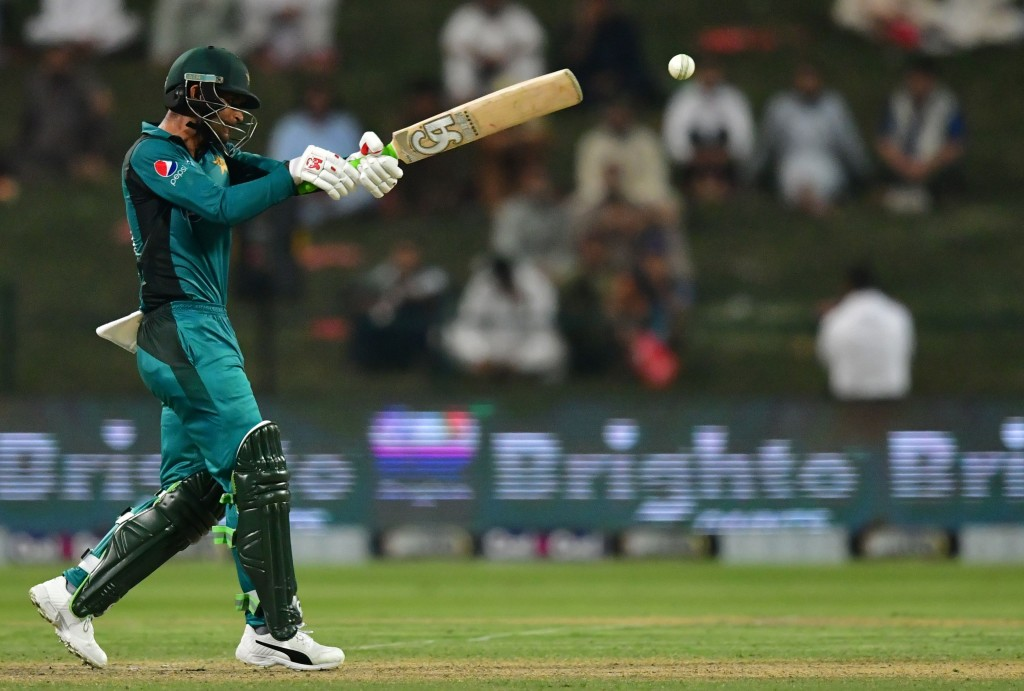 A first ODI half-century on Asian soil for the Pakistan opener.