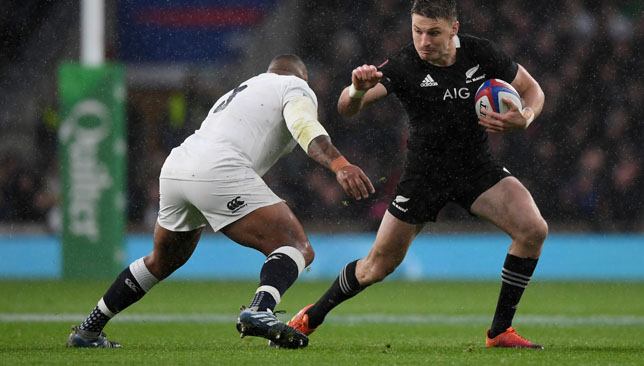 England have only lost in the autumn to New Zealand.