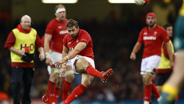 Leigh Halfpenny endured an off-day against the Aussies, missing two presentable kicks at goal.