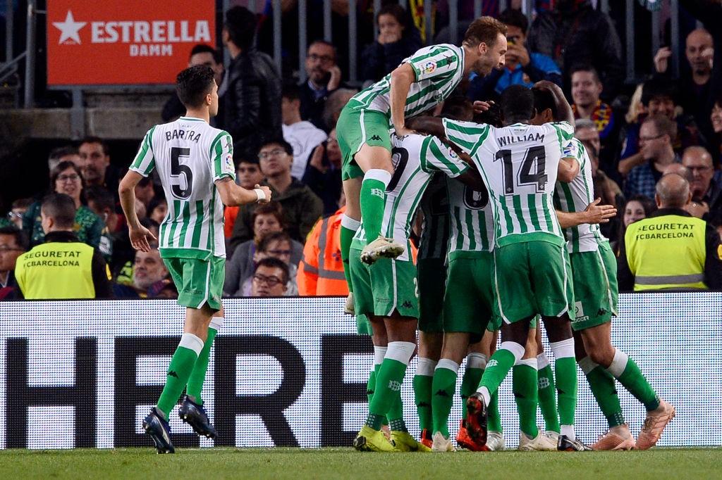 Betis were brilliant against Barcelona on Sunday.