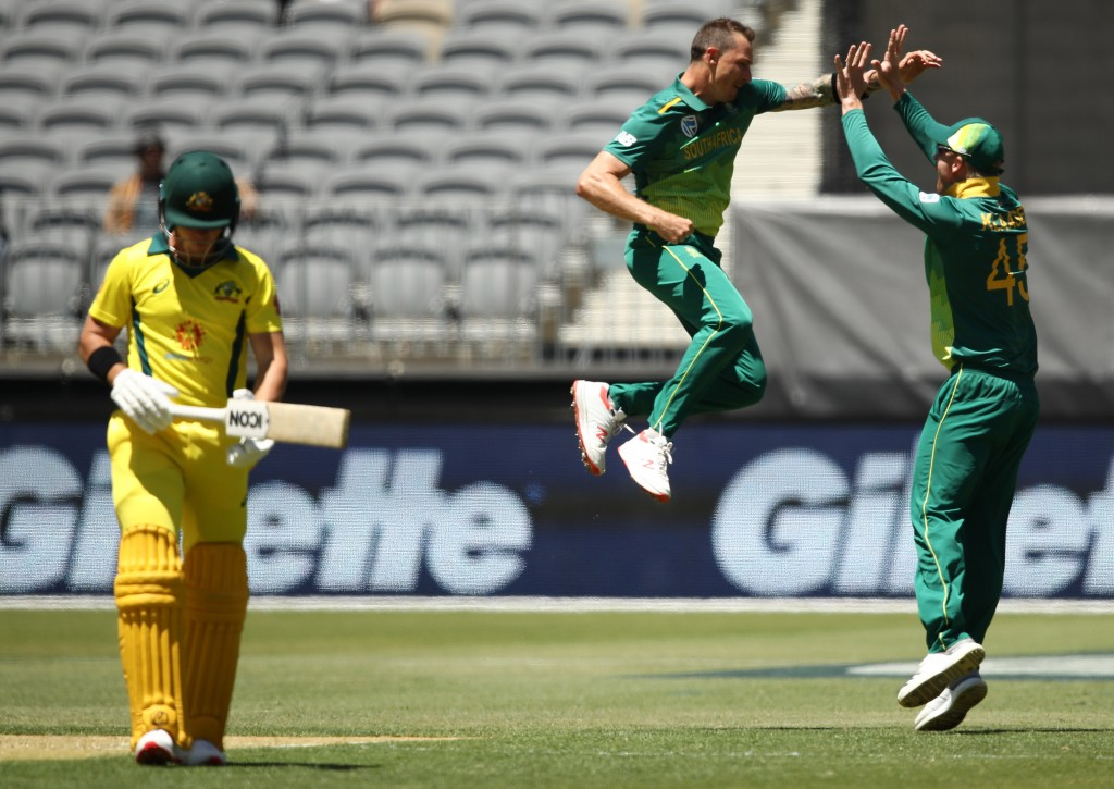 Steyn was sensational with the new ball.