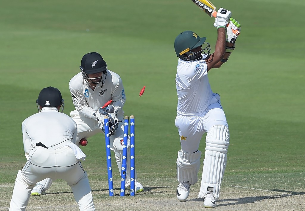 Pakistan's tailenders showed some awful shot selection.