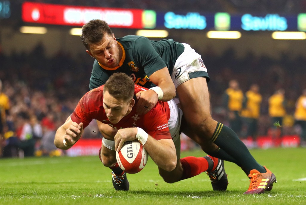 Wales had a 100% record for the first time in an autumn series