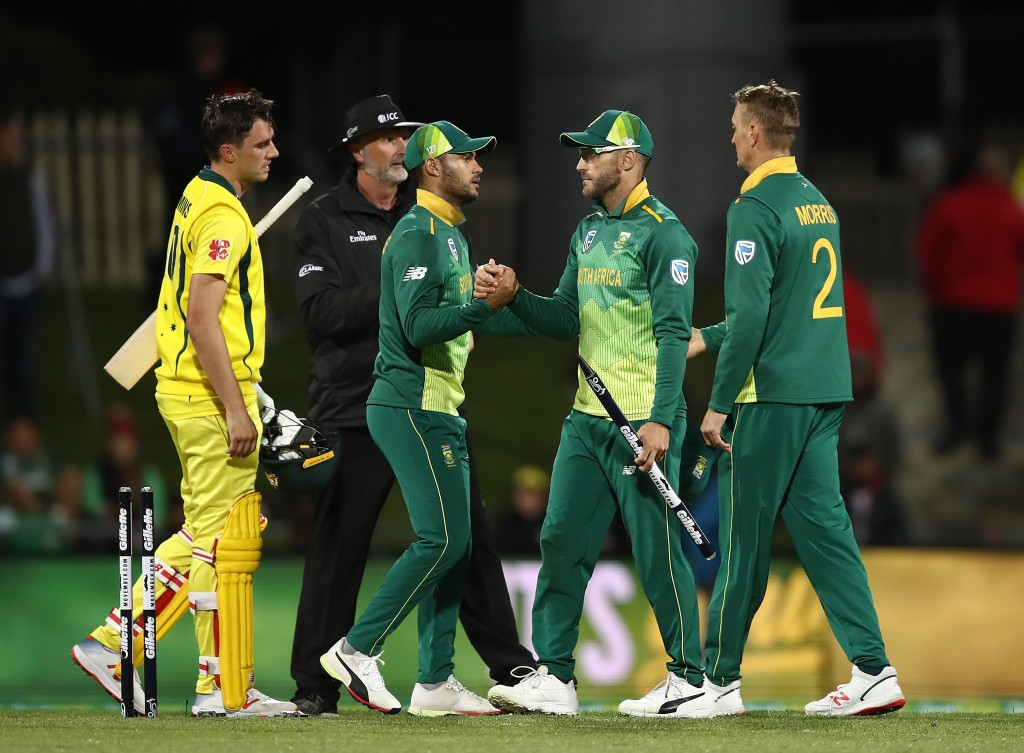 The South Africans ran out 2-1 victors in the ODI series.