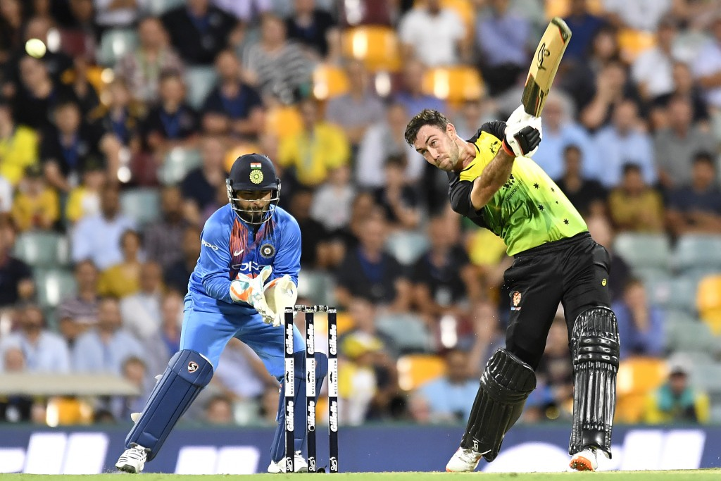 Maxwell' salvo won Australia the first T20.