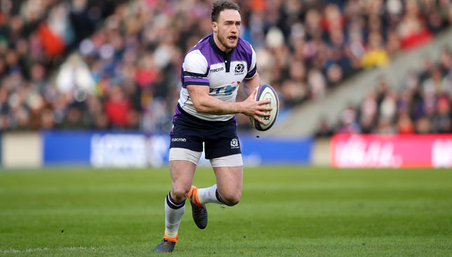 Stuart Hogg is one of Scotland's key attacking talent