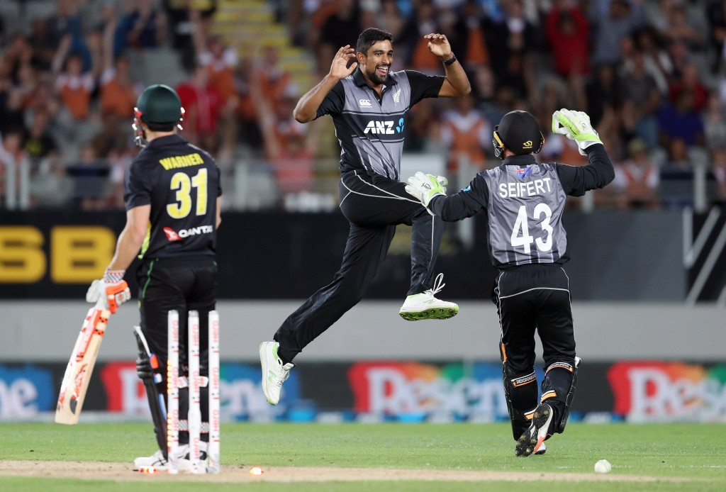 Sodhi will lead New Zealand's spin hopes in the series.