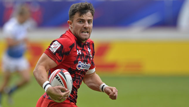 Luke Morgan has been a prolific performer for Wales on the sevens circuit.