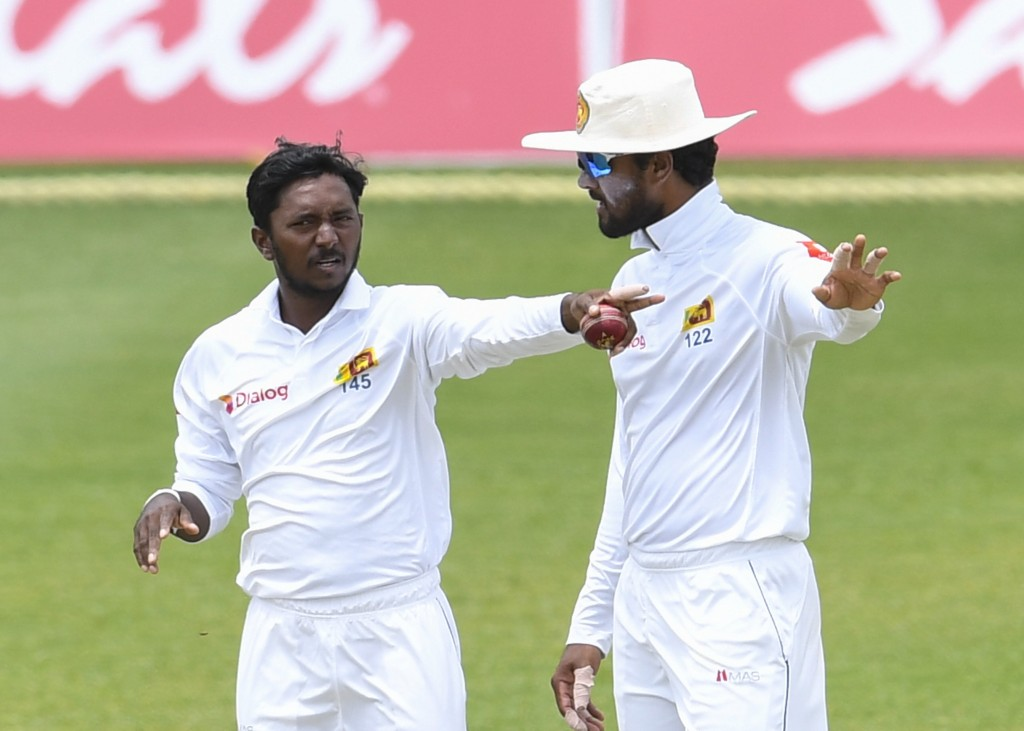 Dananjay (r) could prove to be a handful for England.