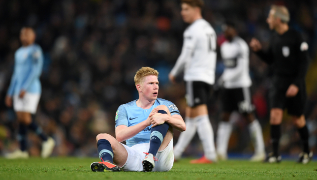 De Bruyne's season was cut short by injuries.