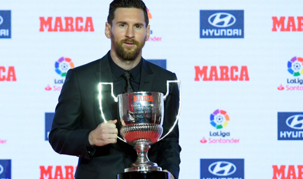 Lionel Messi won statistic-based individual awards