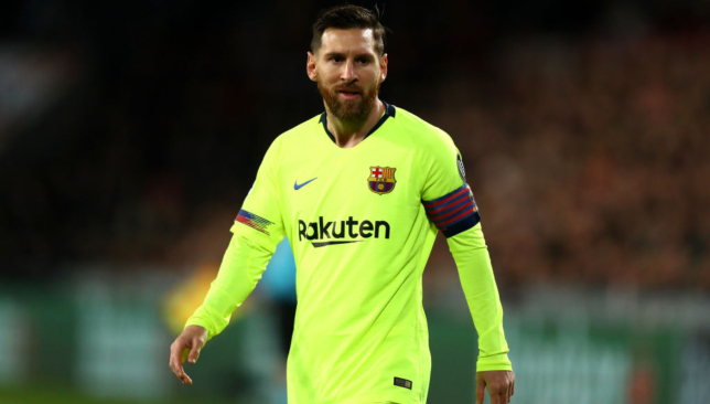 Time to rest Lionel Messi?