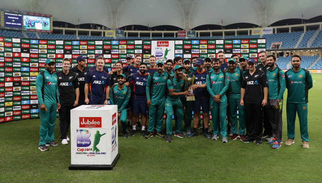 Honours even after a hard-fought series between the two teams.