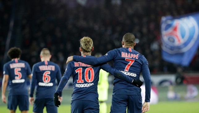 Crocked Neymar celebrates 27th birthday in style with PSG team-mates