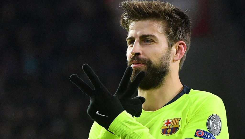Pique made it 2-0.