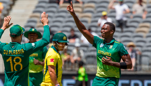 A fine bowling display from the Proteas.
