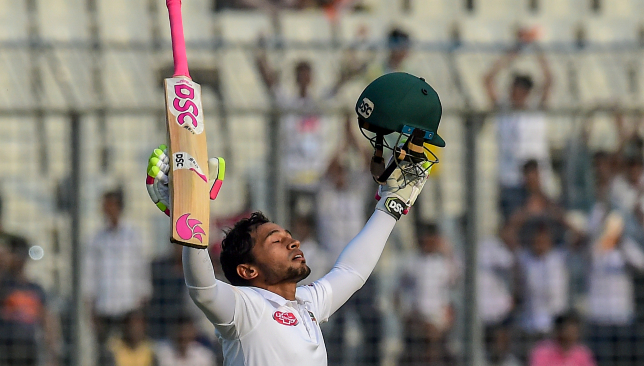 A second Test double ton for the Bangladesh wicketkeeper.