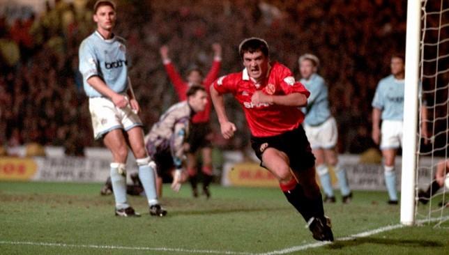 United legend Roy Keane.